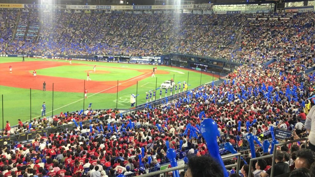 Stadium baseball in Japan