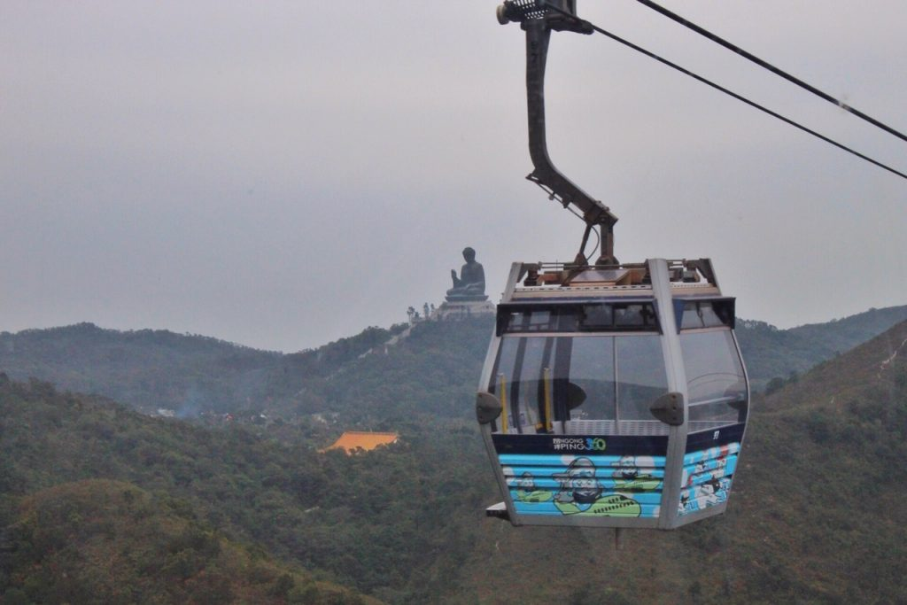 Big Buddha, Cable Car