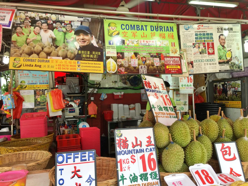 Durian the King of Fruits - Sarah with a Smile