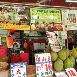Durians at Combat Durian