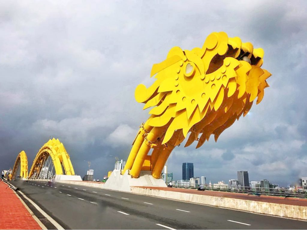 Dragon Bridge Da Nang Vietnam