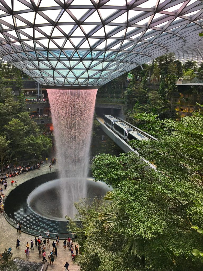 Layover in Singapore Jewel