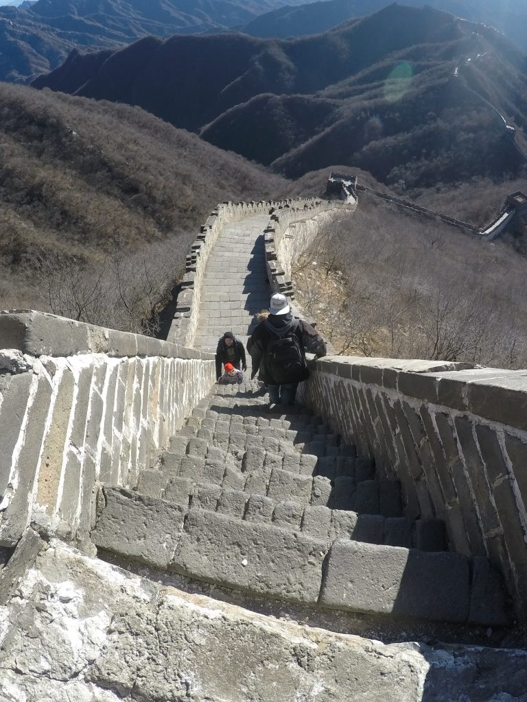 Steep Steps Sarah Emery Great Wall of China