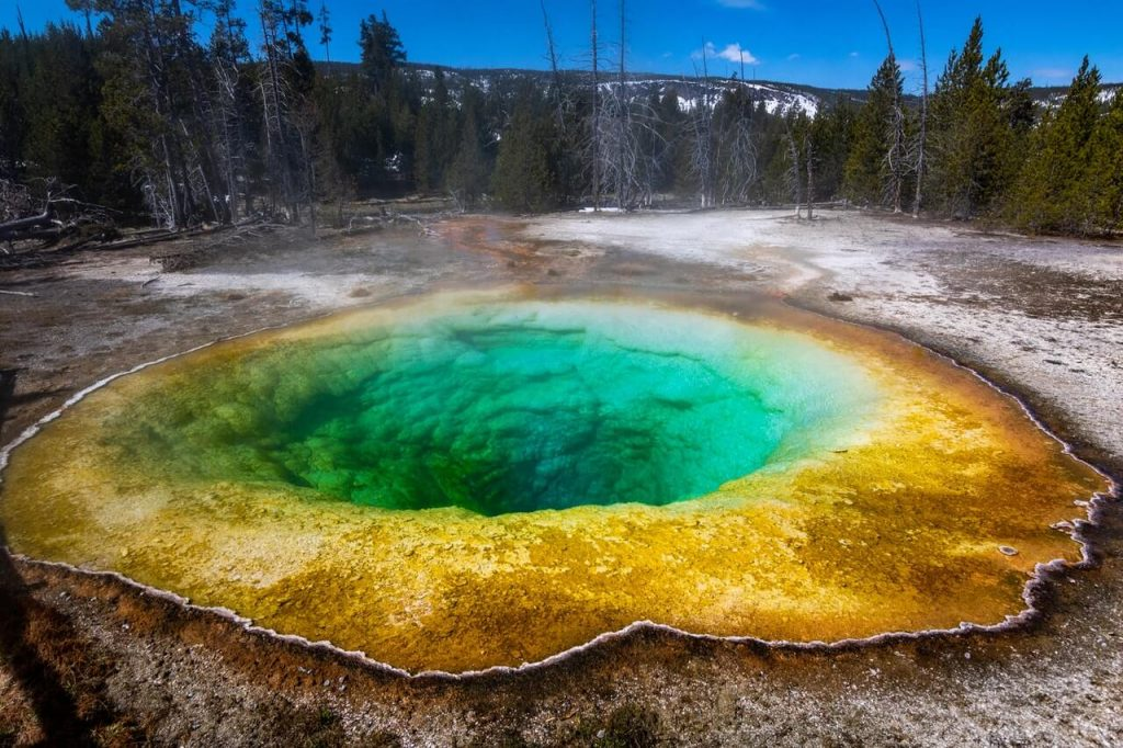 National Parks geyser