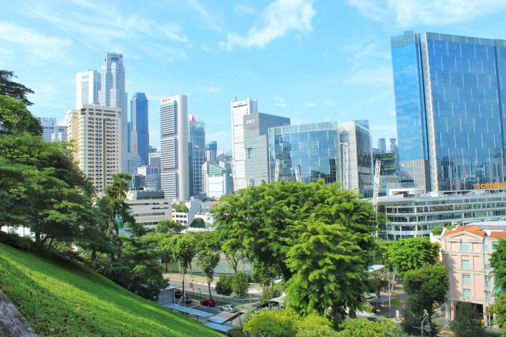 Layover in Singapore in Fort Canning