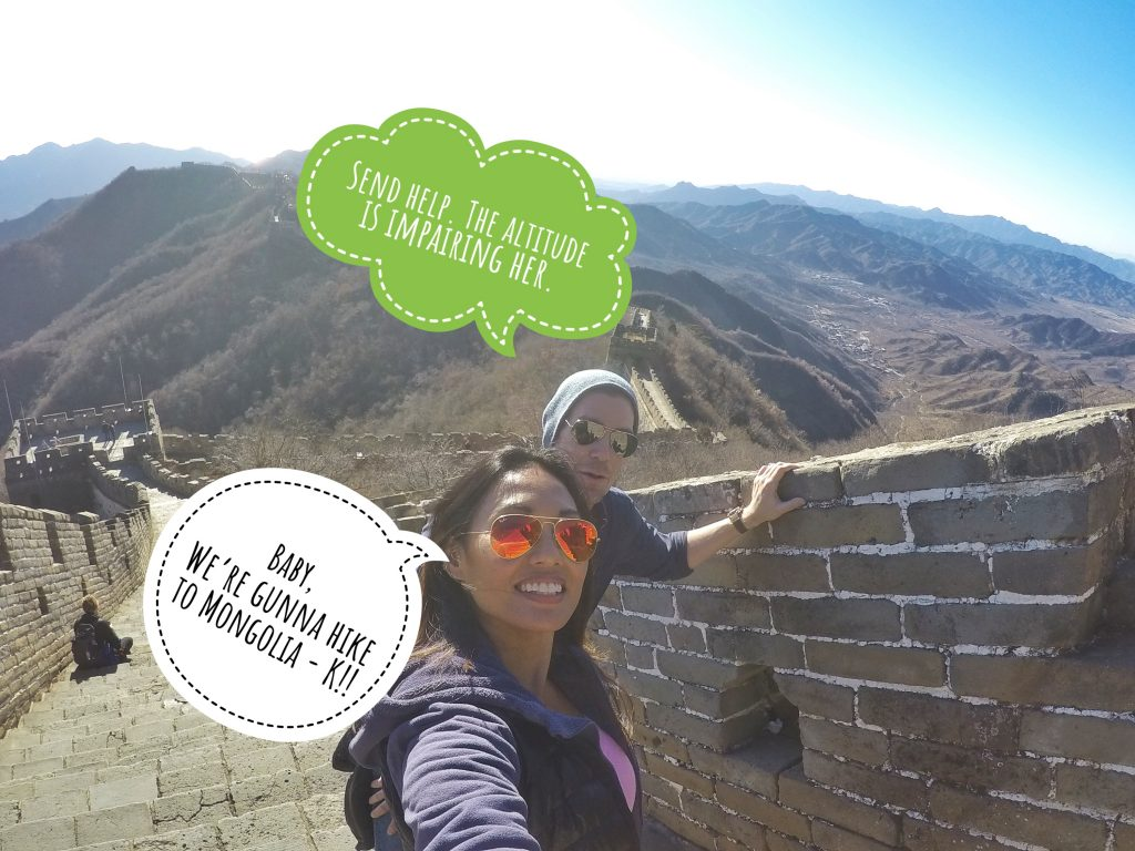 Sarah Emery and Tim Unsell Great Wall of China