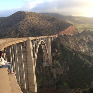 Sarah Emery California Bixby Bridge