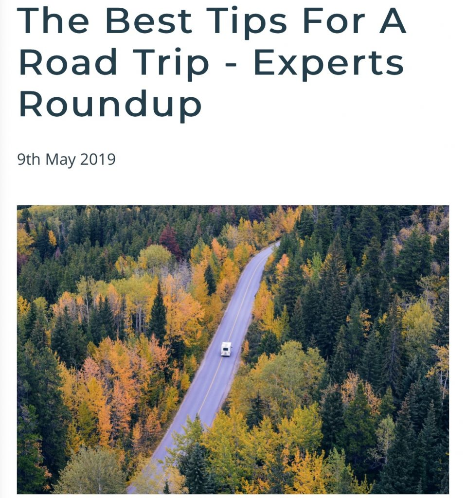 Sarah Emery Expert Road Trip Tips