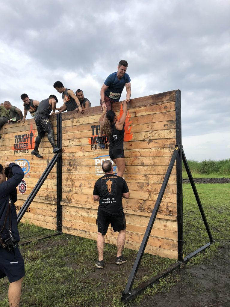 Sarah Tim and Roger Philippines Tough Mudder