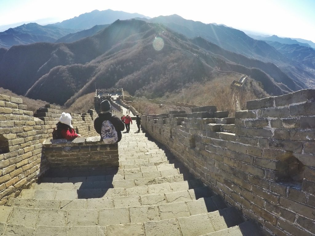 Steps of Great Wall of China SarahwithaSmile