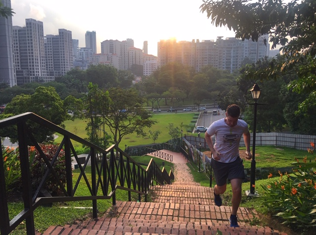 Tim Unsell Running Singapore